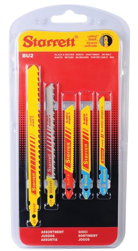 Starrett - Juego sierra calar bimetal(blister 5u)