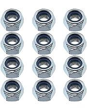 Easyboost 12 moeren voor remmen, M3, M4, M5, M6, M8, M10, M12, DIN-985, ISO-10511, UNI-74, verzinkt, bevestiging van schroeven, schroeven met ring, niet metaal