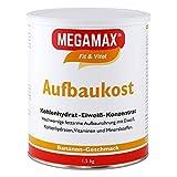 MEGAMAX Aufbaukost Banane 1.5 kg Ideal zur Kräftigung und bei Untergewicht. Proteinpulver zur...