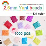 Juguete Rompecabezas 2.6mm YANTJOUET 1000pcs Perler Beads partículas...