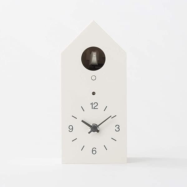 MUJI 布谷鸟时钟白色标准尺寸