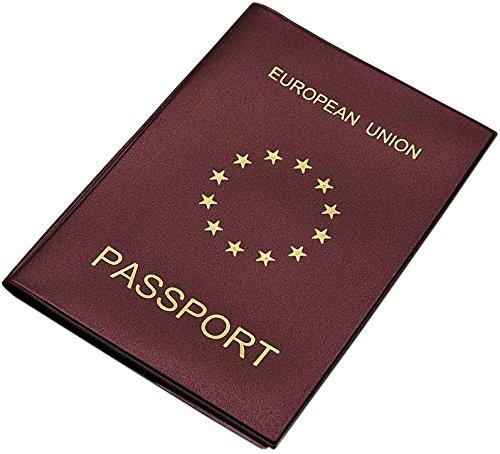 Reisepass Schutzhülle Made in EU in 3 Farben (Weinrot)