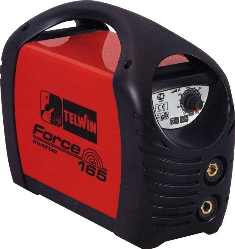 Saldatrice Inverter Telwin mod.Force165 1,6-4,6Kw 5-150Ah con accessori
