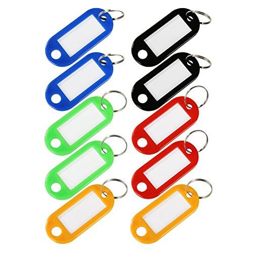 HMF 1900-99, 10 x Schlüsselanhänger groß, farblich sortiert