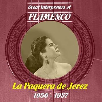 Great Interpreters of Flamenco - La Paquera de Jerez, 1956 - 1957