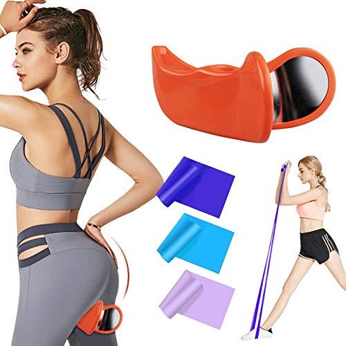 Kaufam Hip Trainer Beckenbodenmuskel Exerciser Beintrainer und Innenschenkel Trainingsgerät, verstellbares Oberschenkel Trainingsgerät Beckenmuskel Trainingsgerät Gesäß für Frauen
