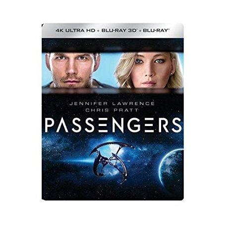Passengers SteelBook (4K Ultra HD Blu Ray + 3D Blu Ray + Blu Ray)