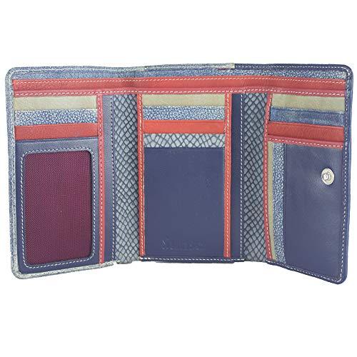Sunsa Geldbörse für Damen großer Leder Geldbeutel Portemonnaie mit RFID Schutz Brieftasche mit viele Kreditkarten Fächer Geldtasche Wallet Purses for Women das Beste Gift kleine Geschenk 81633