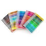 NBNBN Bolígrafos de Colores 48/60/72 / 100Pcs Doble encabezada Pluma de la Acuarela Pintura Pluma de la Acuarela Art Marker Marcador de Arte para Hacer Tarjetas (Color : Multi-Colored, Size : 48)