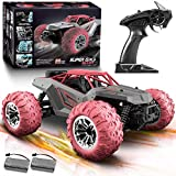 RC Cars Remote Control Car: High Speed 36+ Km/h 1:14 Scale 4WD Off Road Monster Truck | Electric Fast RC Trucks with 2 1500mAh Battery & 3 AA Battery | 40+ Min Play Birthday Gifts for Adults Kids Boys