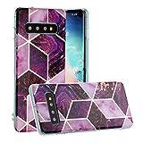 HUAYIJIE YH Coque pour Samsung Galaxy S10+ Plus G975U Coque Phone Case Cover Etui Housse 5