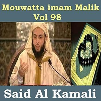 Mouwatta Imam Malik, Vol. 98 (Quran)