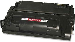 خرطوشة حبر MicroMICR MICRTHN42A MICR لطابعات HP LaserJet 4240 و4250 و4350 Series الذكية باللون الأسود