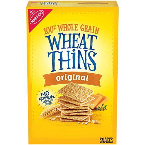 Wheat Thins Original Whole Grain Wheat Crackers, Holiday Christmas Crackers, 9.1 oz -  KFT-741