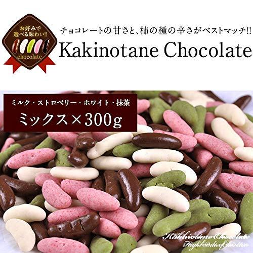冬季限定 チョコ たっぷり リッチ仕様 柿の種 チョコミックス 300g メール便