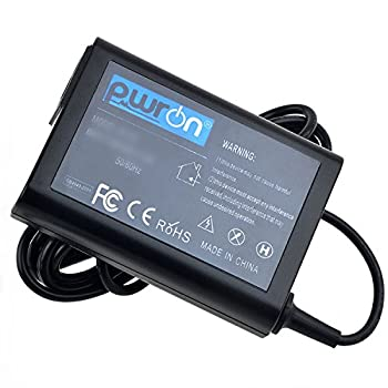PwrON 19.5V 3.34A 65W Slim Design AC to DC Adapter for Dell Inspiron I7359-5984SLV i7359-8404SLV 13.3  Touchscreen Laptop I73595984SLV I73598404SLV Power Supply Cord