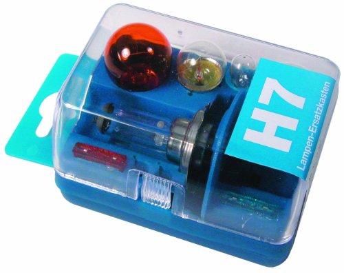 Unitec 73082 Lampenersatzkasten H7 blau