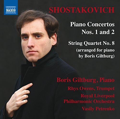 Klavierkonzerte Nr. 1 + 2 / Streichquartett Nr. 8 (arr. für Klavier)
