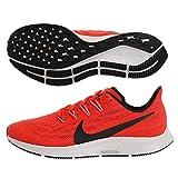 Nike Air Zoom Pegasus 36, Scarpe da Atletica Leggera Uomo, Multicolore (Bright Crimson/Bla...