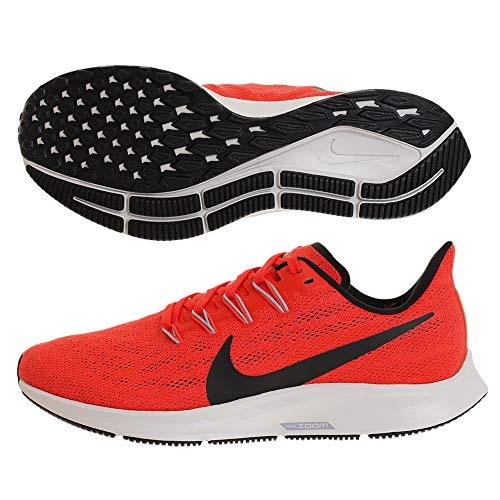 Nike Men's Air Zoom Pegasus 36 Running Shoe Bright Crimson/Black-vast Grey 10 Medium US