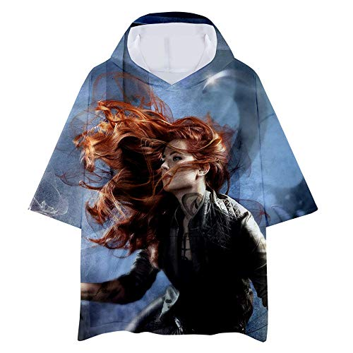 Shadowhunters Camiseta Colorido Moda Hombre Camiseta Algodón