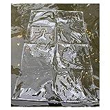LSXIAO Vinilo Transparente Lona Cubrir, 0,3mm De Espesor Hoja De PVC, Impermeable A Prueba De Polvo Aislamiento Anti-envejecimiento con Ojal De Metal para Cerramiento De Patio, Porche