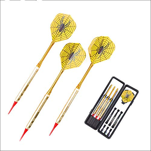 Read About hfeng Dart Soft Darts Set Sports 3 PCS 19 g Profession Copper Body Soft Tip with Niceshoo...