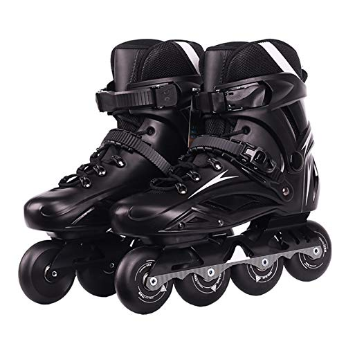 mfwwewe Inline Skates Adults Professional High Performance Inline skates For Women And Men Roller Skates With High Elasticity And Wear Resistance PU Wheel For Outdoor And Indoor
