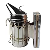 Andux Bee Hive Smoker Stainless Steel with Heat Shield Beekeeping Equipment YFPYQ-01 (Hive Smoker)