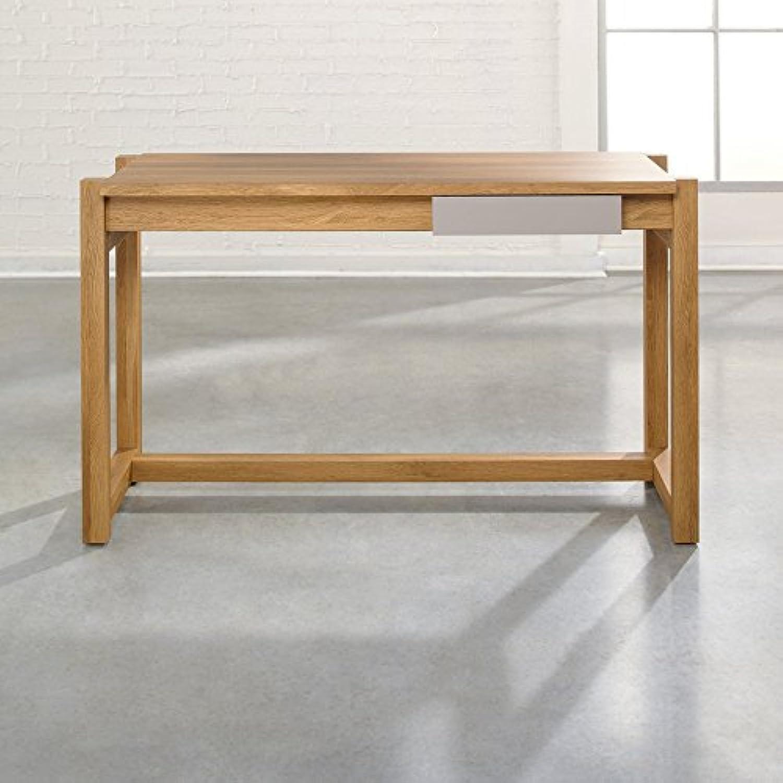 Sauder Weich Moderne Schreibtisch–Pale Eiche Modern braun