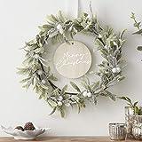 Ginger Ray Christmas Wreath Mistelzweig Wiederverwendbare Dekoration