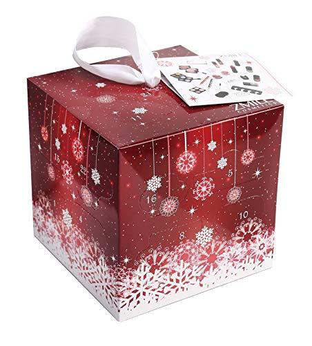 ZMILE Cosmetics Kosmetik-Adventskalender 'Cube' (red) 24 tlg.