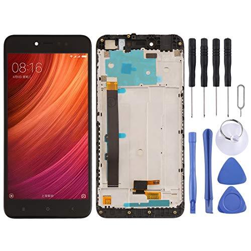 ReparaciónyRepuestos Pantalla táctil de Xiaomi Pantalla LCD y Conjunto Completo de digitalizador con Marco for Xiaomi Redmi Note 5A Prime/Remdi Y1 (Color : Black)