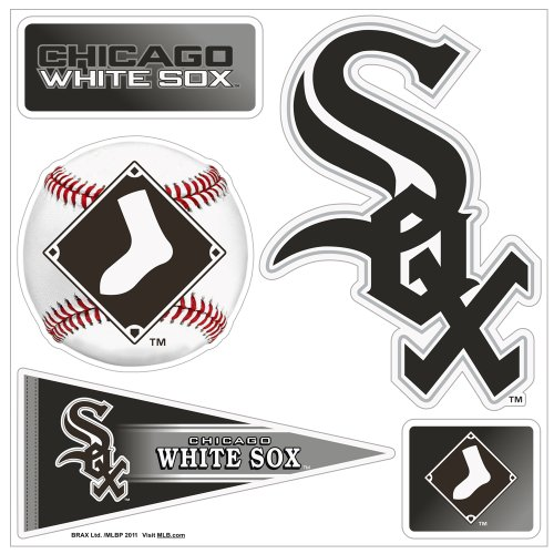 """MLB Chicago White Sox """"5-Piece"""" 3D Multi-Magnets"""