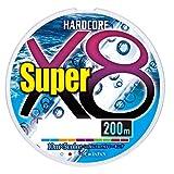 DUEL (デュエル) PEライン 釣り糸 HARDCORE スーパー X8 【 ライン 釣りライン 釣具 高強度 高感度 】 1.0号 200m 5色 H4316-5C