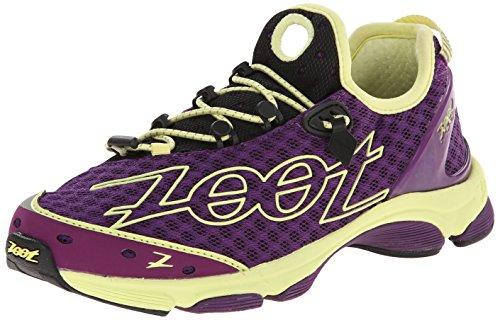 Zoot Zapatilla de triatlón para Mujeres TT 7.0 Color púrpura Profundo/rocío de Miel W TT 7.0 - Deep Purple/Honey Dew 37