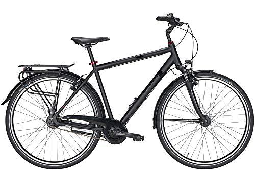 Pegasus Solero SL 7 Herren Trekkingrad 7-Gang Nabe R�cktrittbremse 28 Zoll Herrenfahrrad 7 Gang Nabenschaltung mit R�cktritt schwarz matt