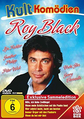 Kultkomödien mit Roy Black - 5DVD-Sammeledition (Hilfe, ich liebe Zwillinge; Wenn mein Schätzchen auf die Pauke haut; Wer zuletzt lacht, lacht am ... Ärger mit den Paukern; Wenn du bei mir bist)
