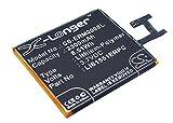 CS-ERM200SL Batería 2300mAh Compatible con [Sony Ericsson] D2202, D2203, D2206, D2243, D2302, D2303, D2305, D2403, D2406, Eagle DS, Eagle Rita SS, S50h, Xperia E3, Xperia E3 Dual, Xperia M2, Xperia M