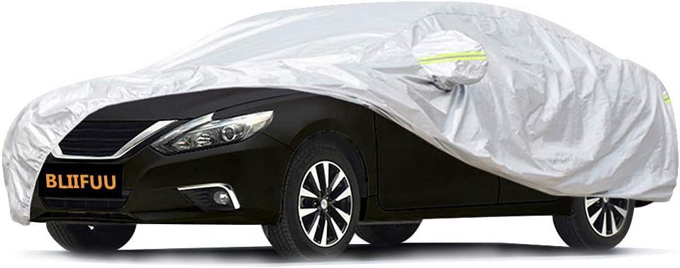 Bliifuu All Seasons Waterproof Sedan Car Cover $18.99 Coupon
