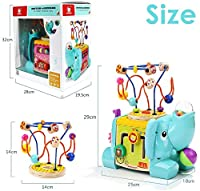 TOP BRIGHT Cubo Multiattività Bambini - Giochi in Legno per Bambini 1 Anno – Cubo Interattivo per Bimbi e Bimbe – Gioco Educativo – Ottima Idea Regalo Bambini #7
