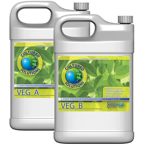 Cultured Solutions VEG A & B (Gallon of Each) - Under Current DWC Nutrients