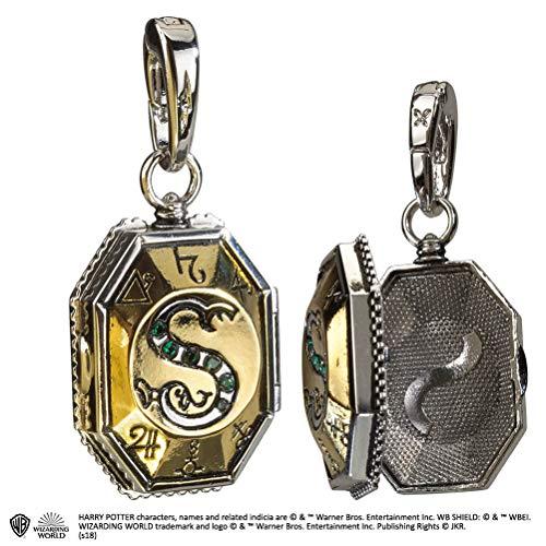The Noble Collection Lumos Charm: Das Slytherin Medaillon