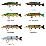 WestinMike The Pike Real Swimbait Low Floating Chopper Pike 28cm 1