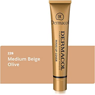 Dermacol Make-up Cover - Waterproof Hypoallergenic Foundation 30g 100% Original Guaranteed (215)