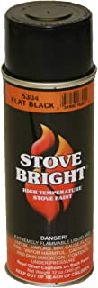 Stove Bright 6304 Stove Bright™ High Temperature Flat Black Stove Paint