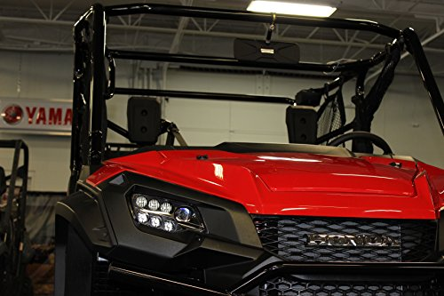 Deluxe 12' wide X 4.5' tall Rear View Mirror Fits Honda Pioneer 1,000 Model UTVs