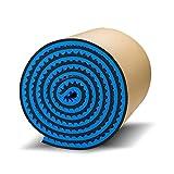 C-J-Xin Tratamiento Acústico de habitaciones, de Protección Ambiental autoadhesivo paneles acústicos Kinder Aula de sonido de absorción de algodón Tratamientos para sala acústica (Color : Blue)