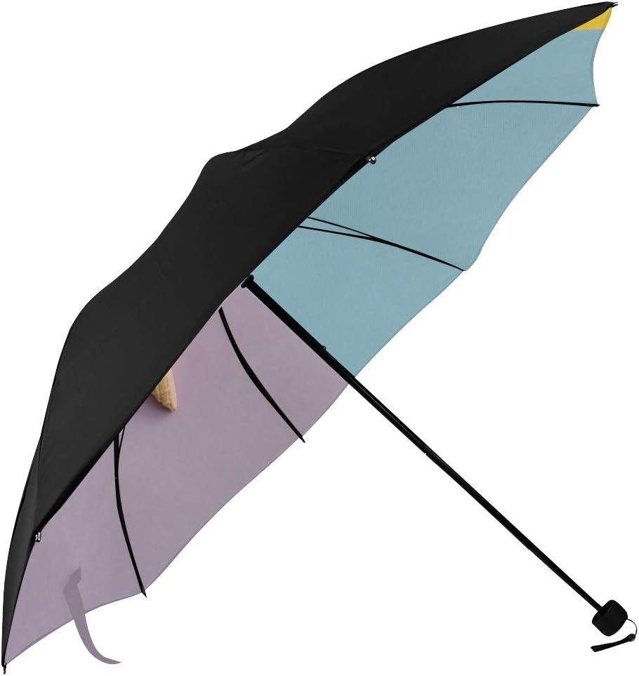 Cute Sun Umbrella Girl Fashion Inexpensive Cream 35% OFF Ice Printing Underside Art