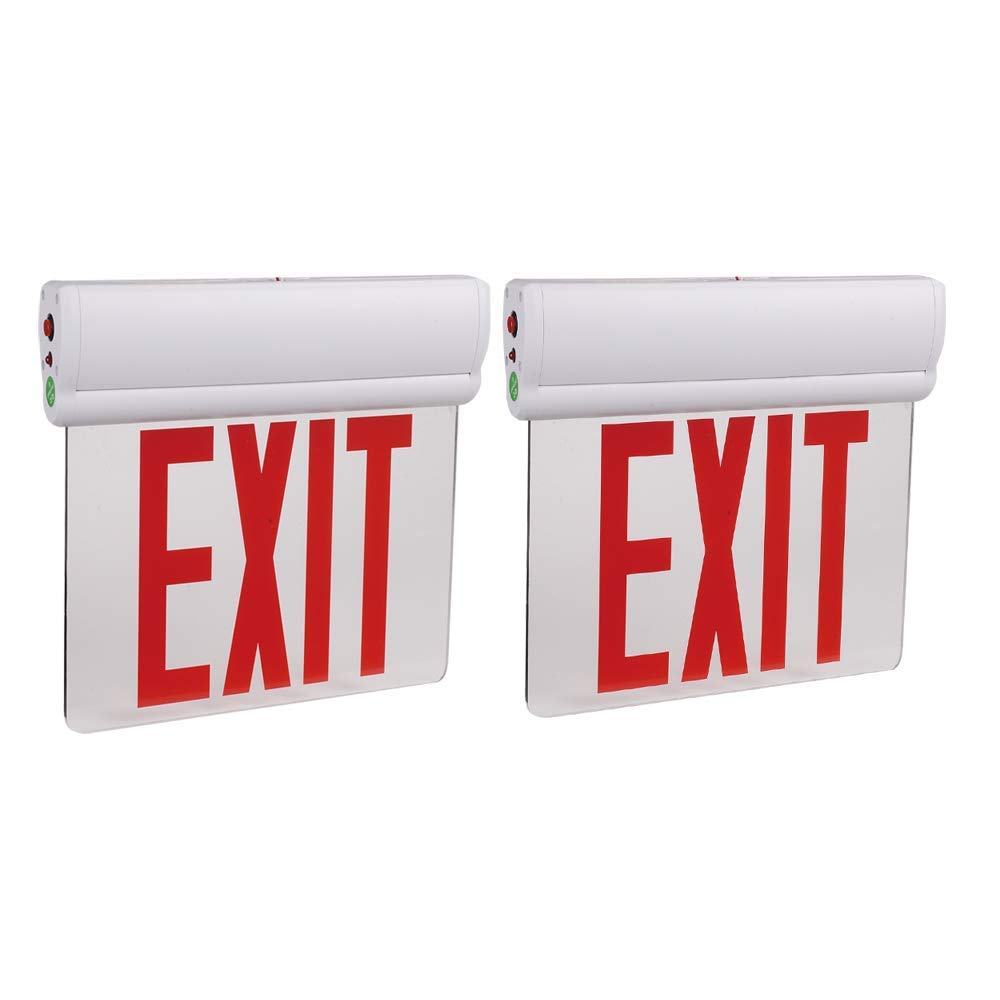 AmazonCommercial cheap Ranking TOP13 Emergency Edge Light LED Sign Exit UL Certifie